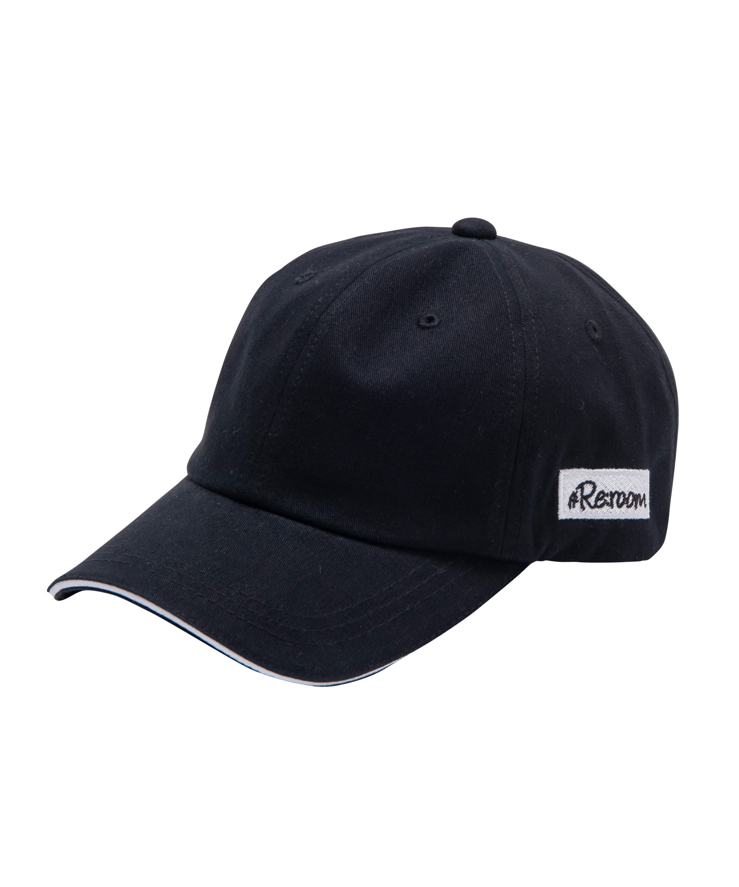 SIDE BOX LOGO TWILL CAP[REH070]