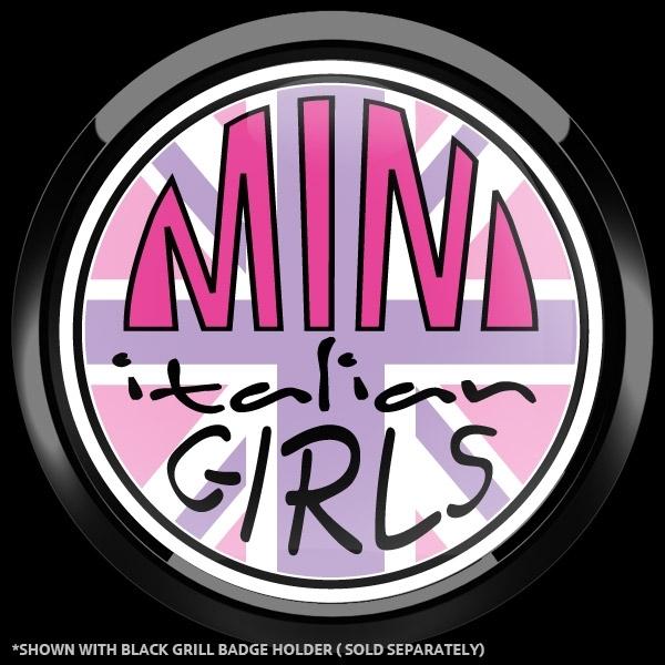 ゴーバッジ(ドーム)(CD1105 - CLUB MINI ITALIAN GIRLS) - 画像2