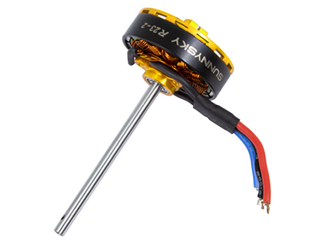 ◆M1ブラシレスメインモーター・イエロー OSHM1028 (ネオヘリでM1購入者のみ購入可)