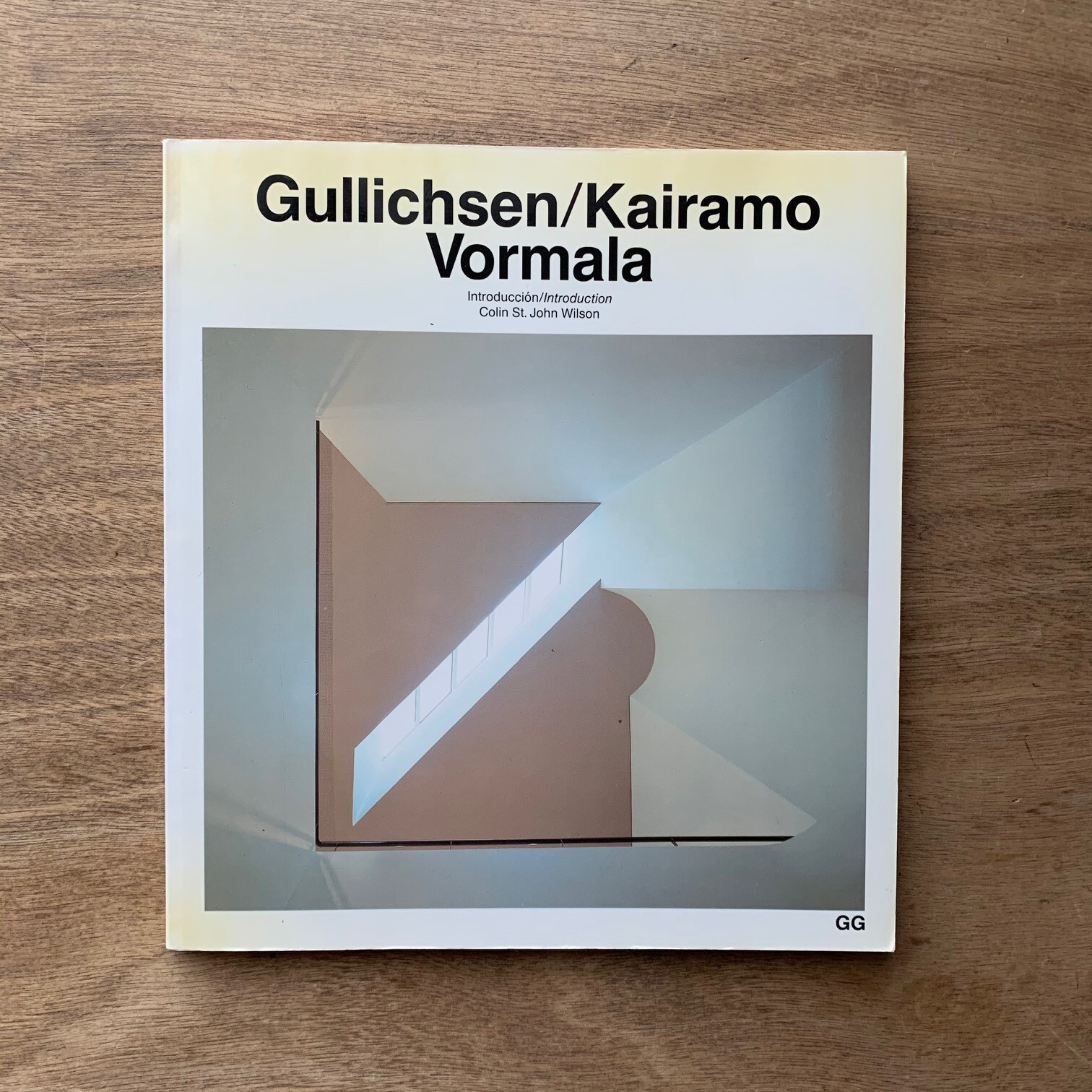 Gullichsen-Kairamo-Vormala  /  Current Architecture Catalogues