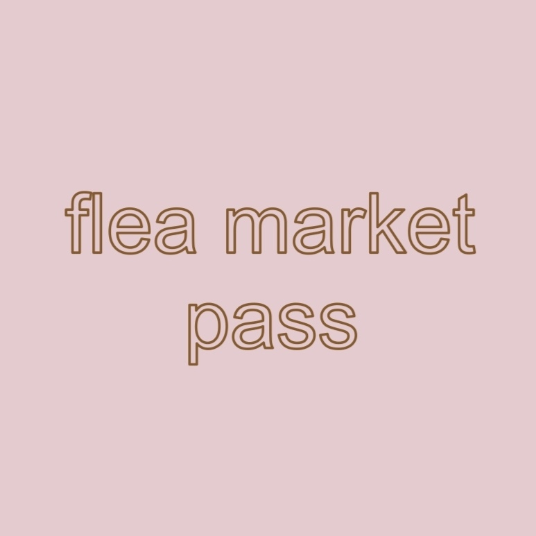 flea market PASS