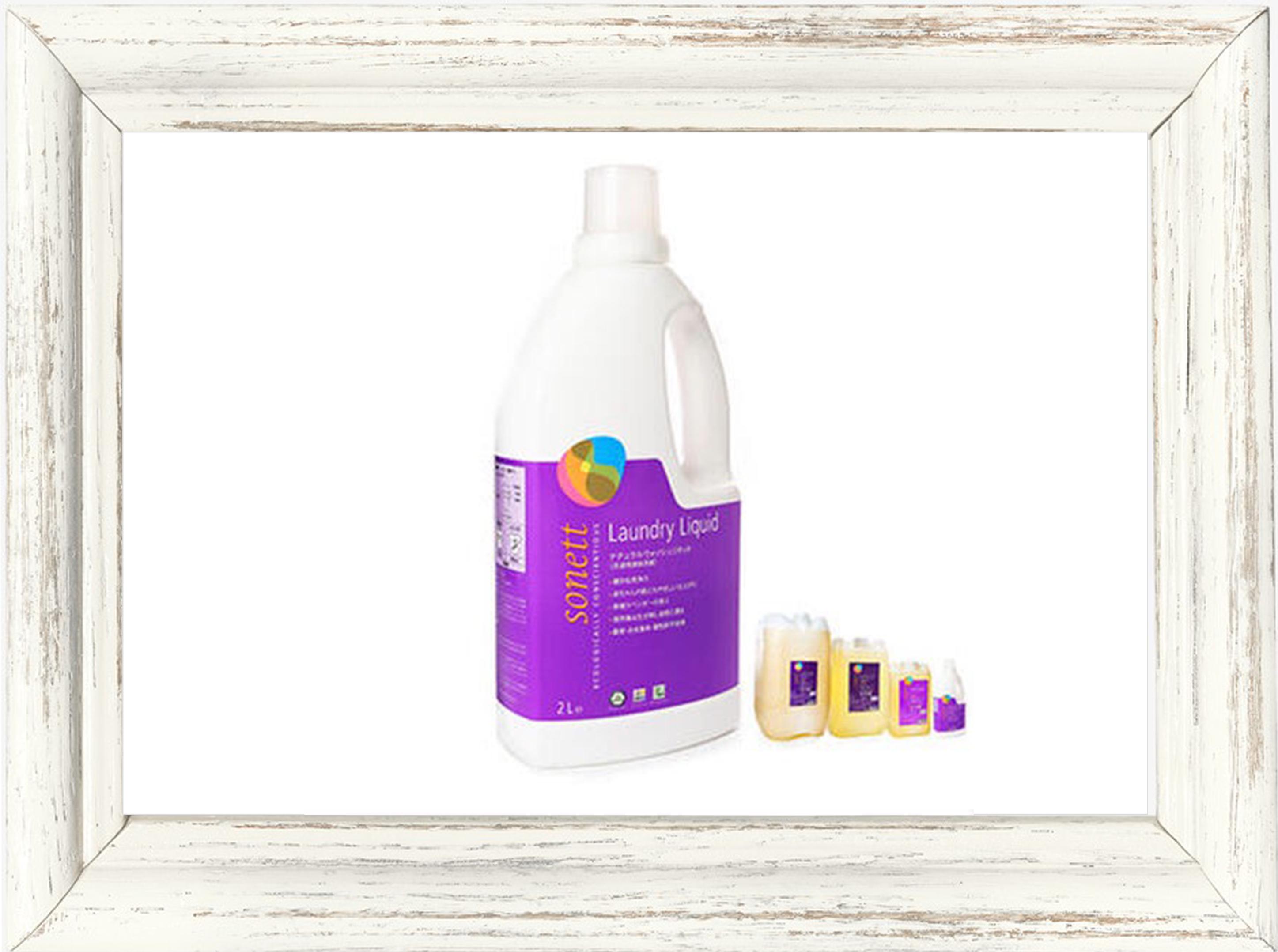 洗濯用洗剤▶︎sonett ナチュラルウォッシュリキッド(洗濯用液体洗剤) 2L