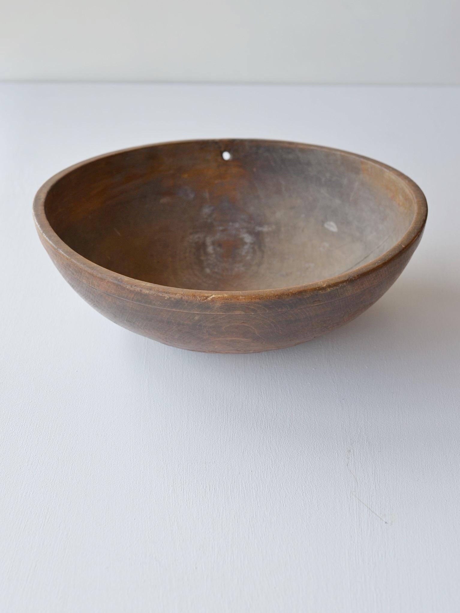 antique | ウッドボウル-wood bowl