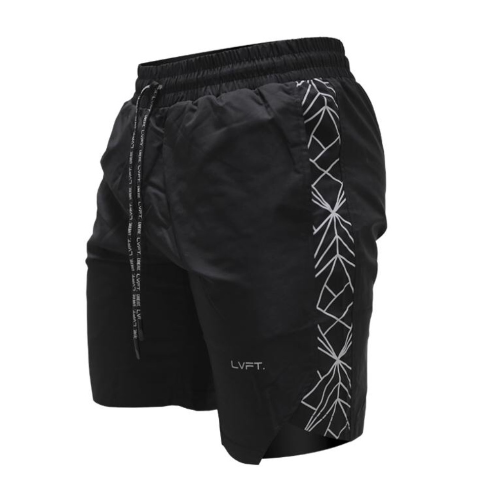 LIVE FIT Hyper Active Shorts - Black
