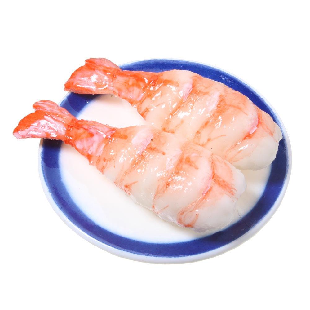 [0002]食品サンプル屋さんのマグネット(回転寿司:えび)