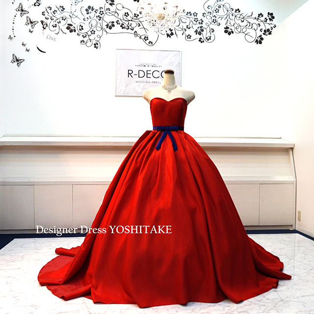 【オーダー制作】ウエディングドレス(パニエ無料) プリンセスシリーズ 白雪姫 披露宴/二次会/前撮り ※制作期間3週間から6週間