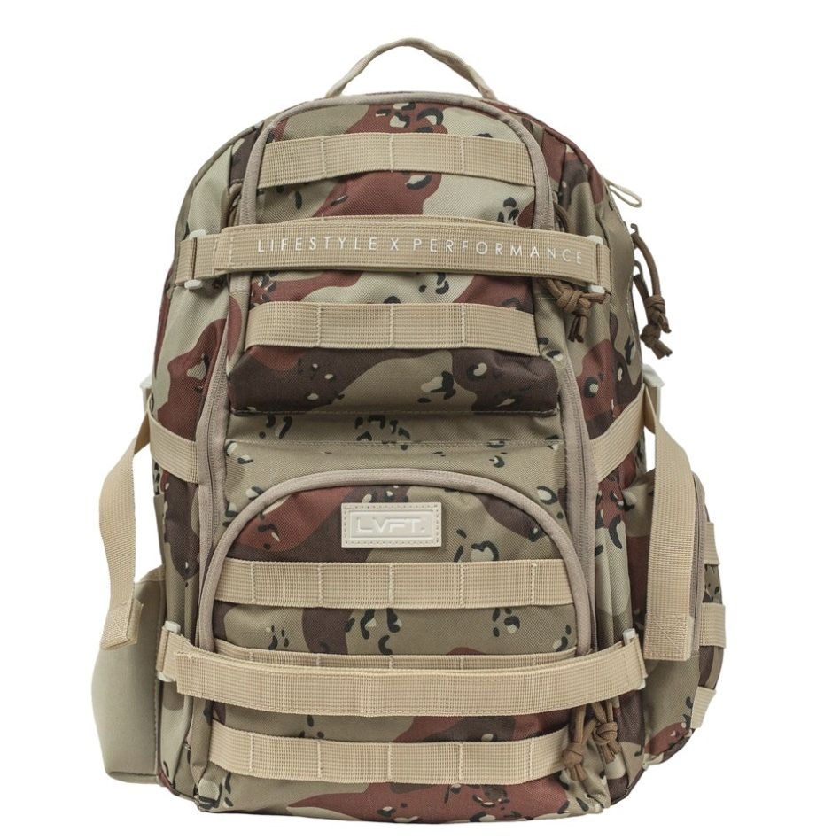 LIVE FIT Tactical Backpack- Desert Camo
