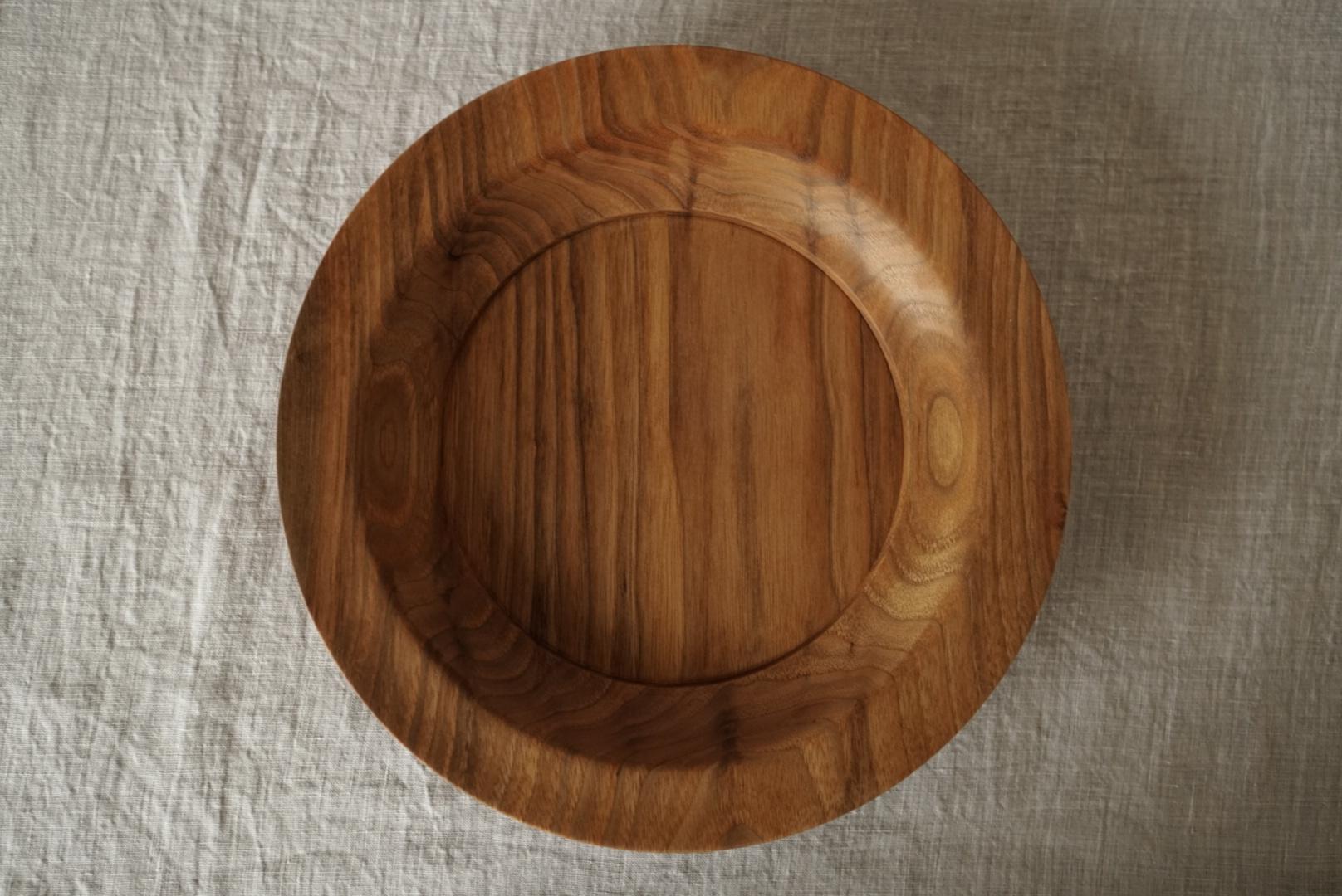 大皿 オニグルミ