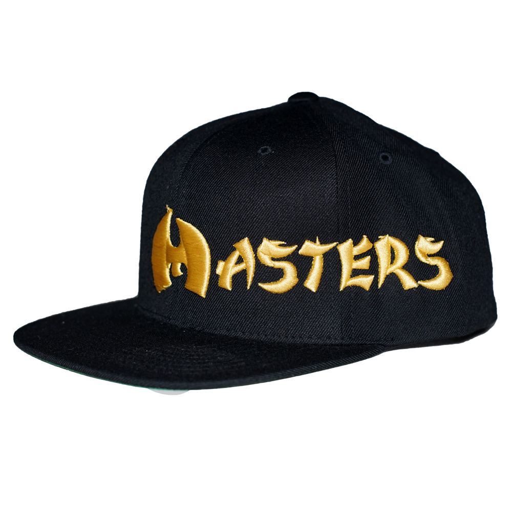 "MASTERS ""WU"" INSPIRED 6-PANEL SNAPBACK BLACK/GOLD"