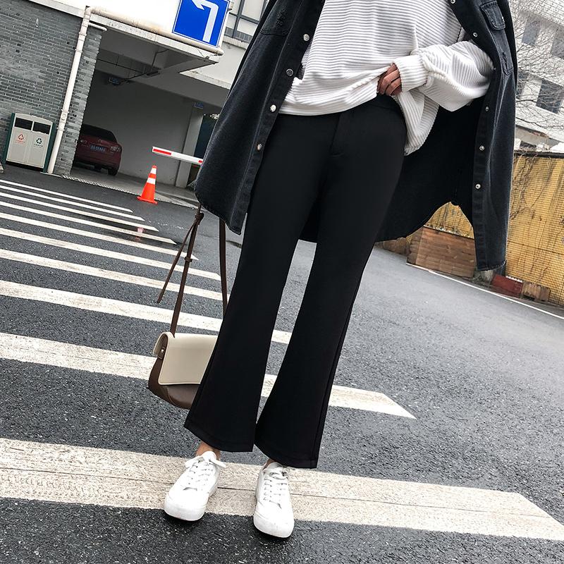 ストレートフレアパンツ 【street flare pants】