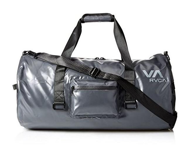 送料無料 RVCA(ルーカ) VA Sports ダッフルバッグ ダークグレイブラック Gym, Travel, Gear Bag