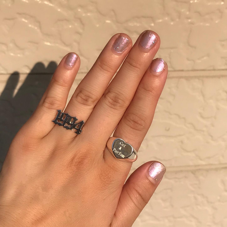 Cat & Parfum Logo Ring