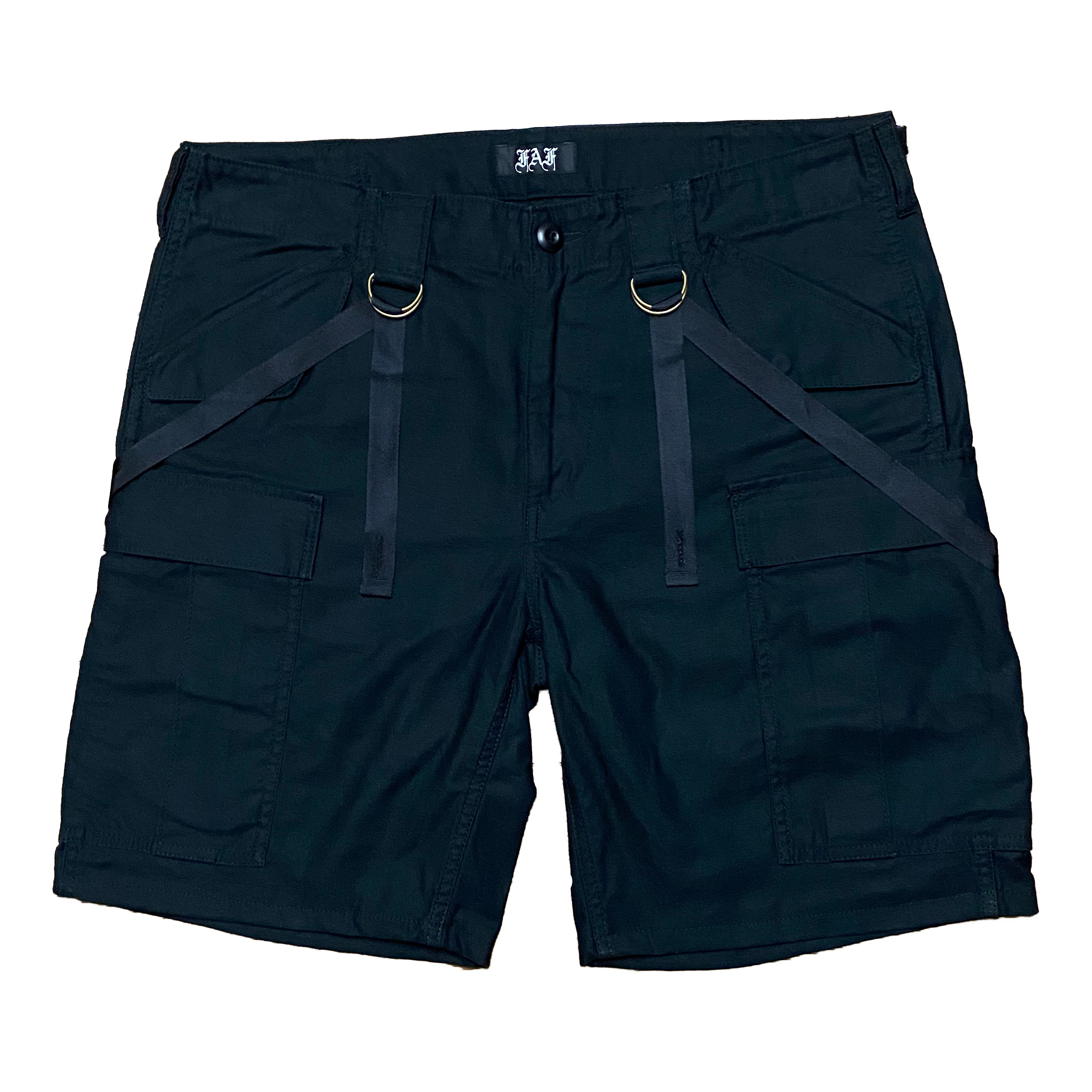 Peace Sign Cargo Shorts - 画像1