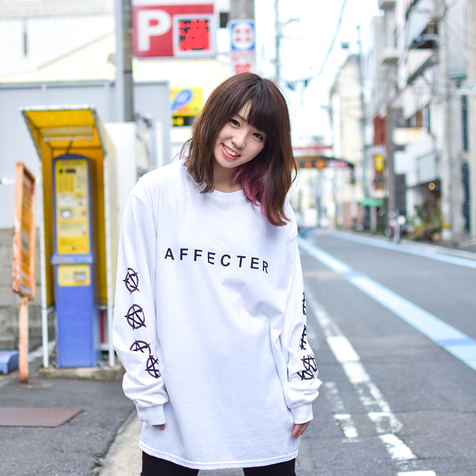 【AFFECTER | アフェクター】CLASSIC BEFORE L/S Tee (White)