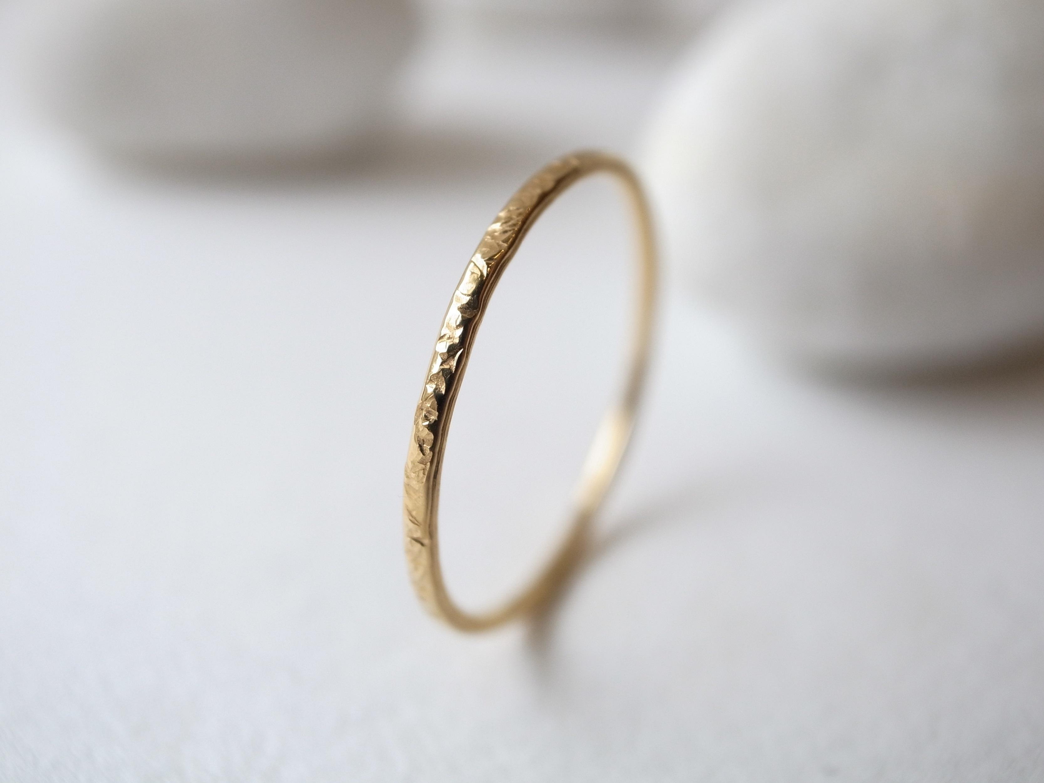 K18YG/stardust ring