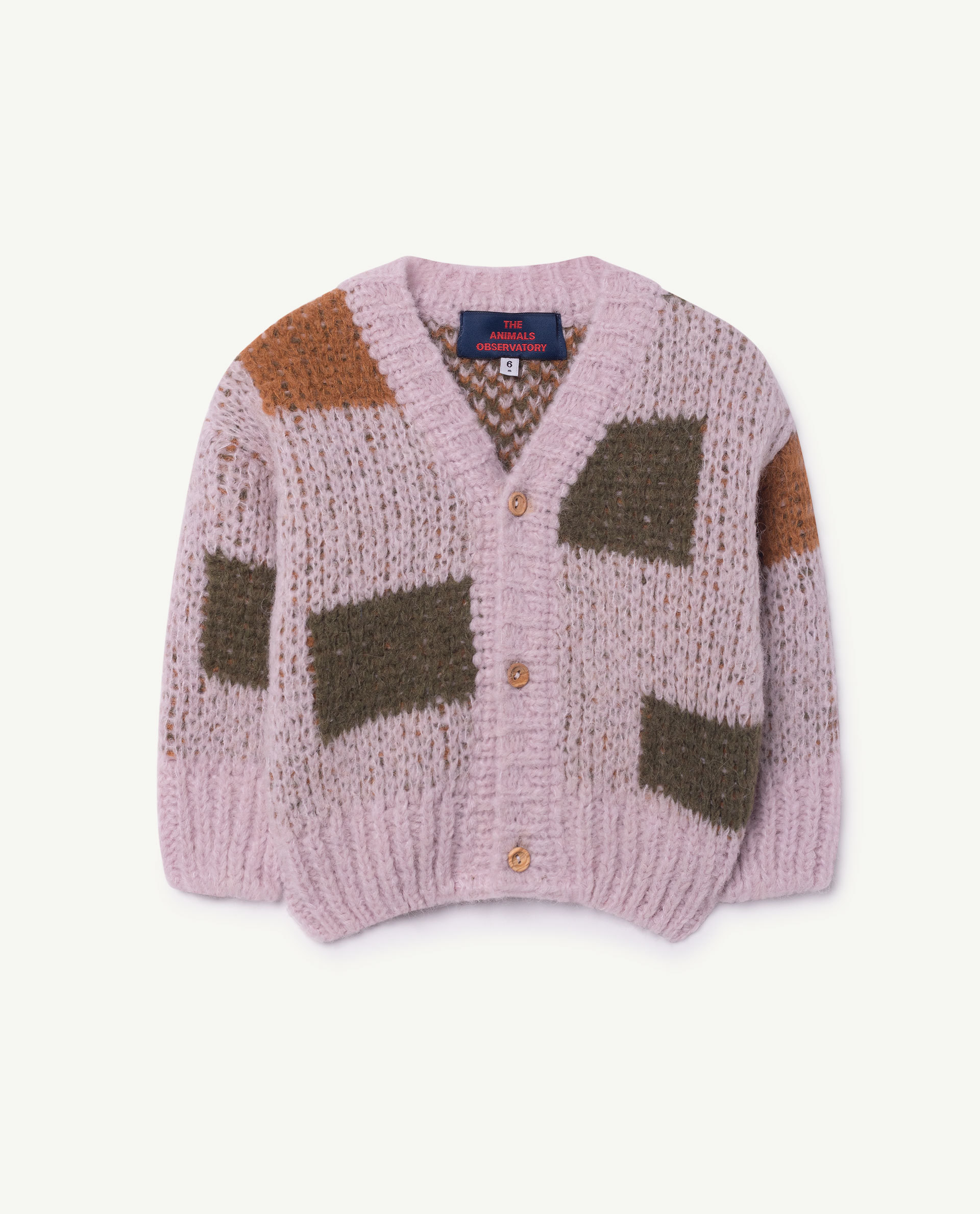 TAO(THE ANIMALS OBSERVATORY)Arty Peasant Cardigan