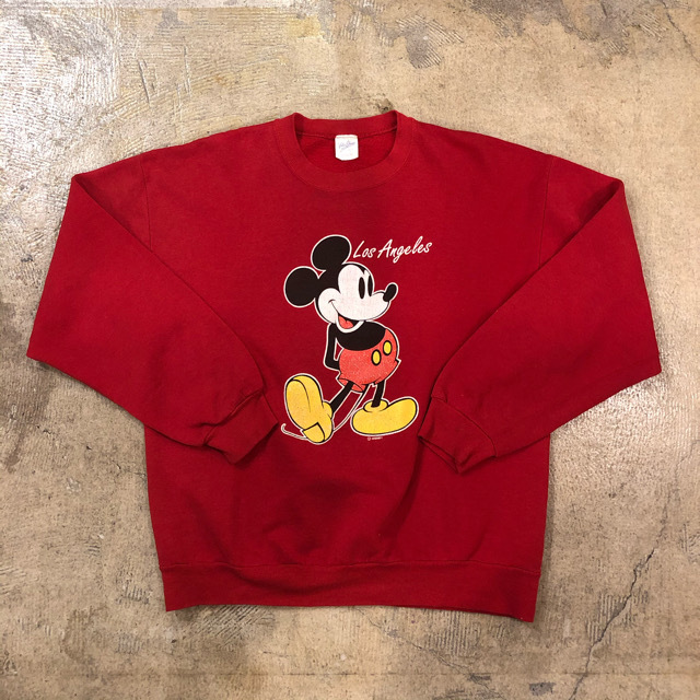 Mickey Mouse Los Angeles Sweat ¥6,400+tax