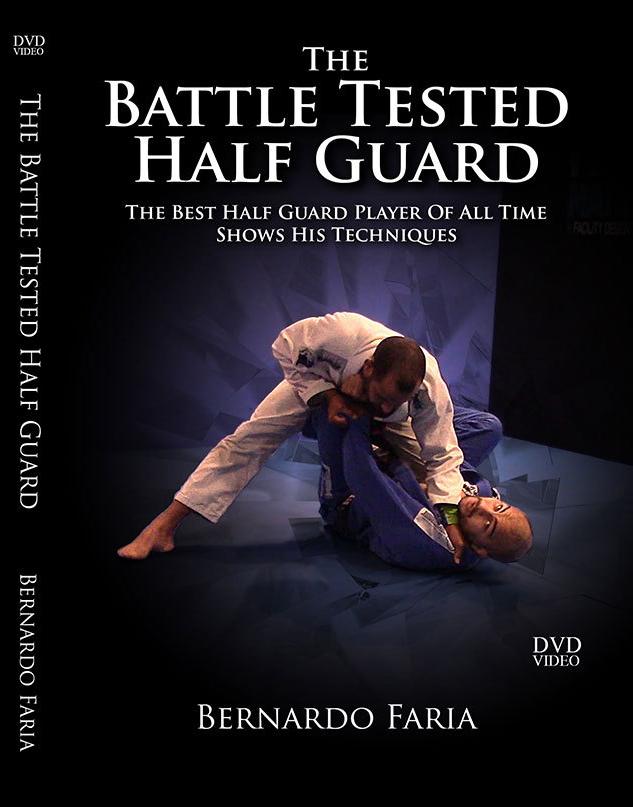 ベルナルド・ファリア ザ・バトル・テスティッド・ハーフガード DVD4枚セット|ブラジリアン柔術教則DVD