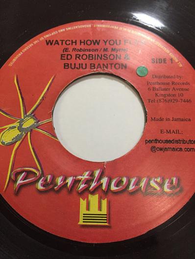Buju Banton (ブジュ・バントン), Ed Robinson (エド・ロビンソン) - Watch How You Flex【7'】