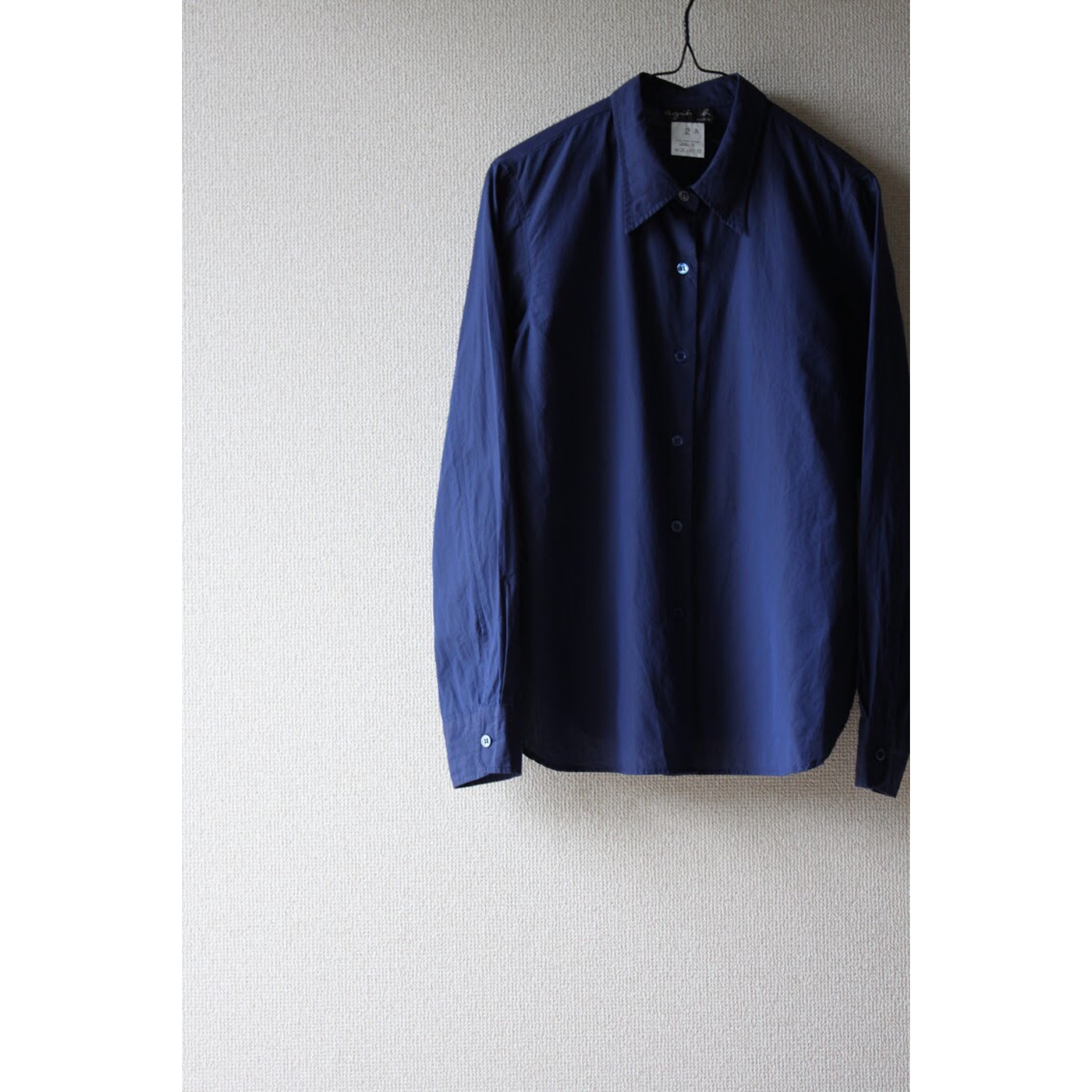 Cotton long sleeve shirt by agnès b.