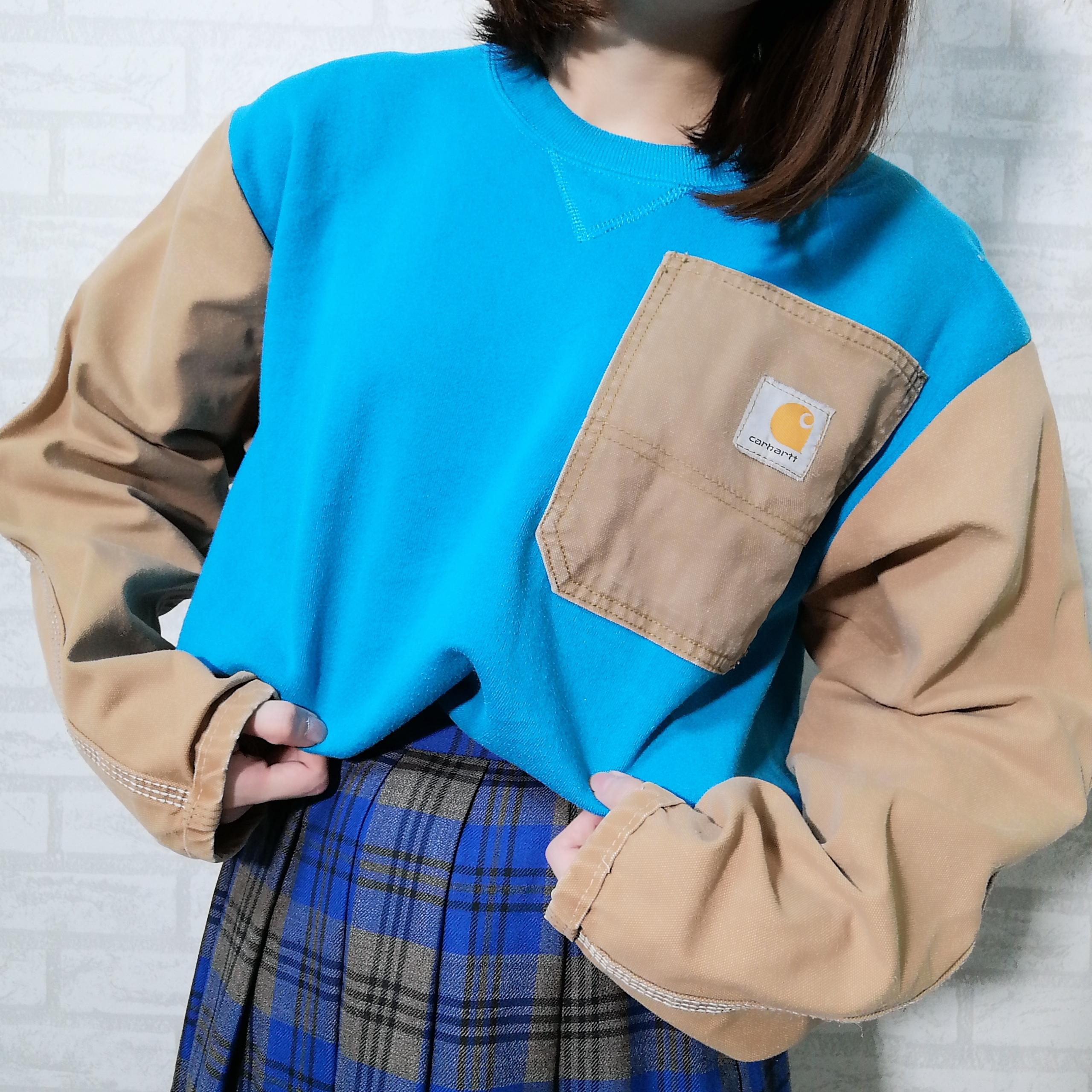 ○ Carhartt remake sweat shirts ○