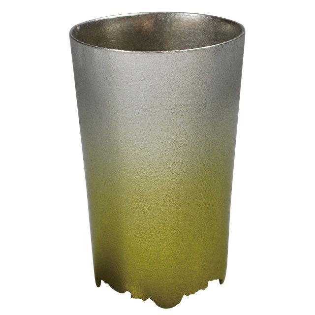 《シキカラーズ_タンブラーS》SHIKICOLORS Yellow green Tumbler S