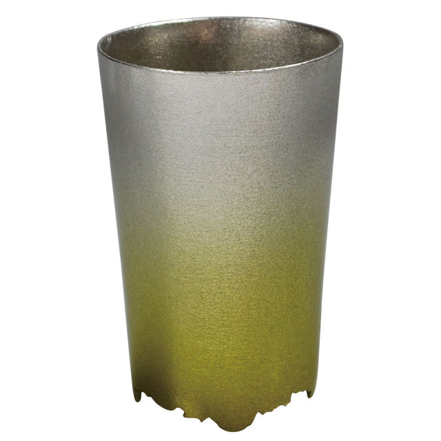 SHIKICOLORS Yellow green Tumbler S
