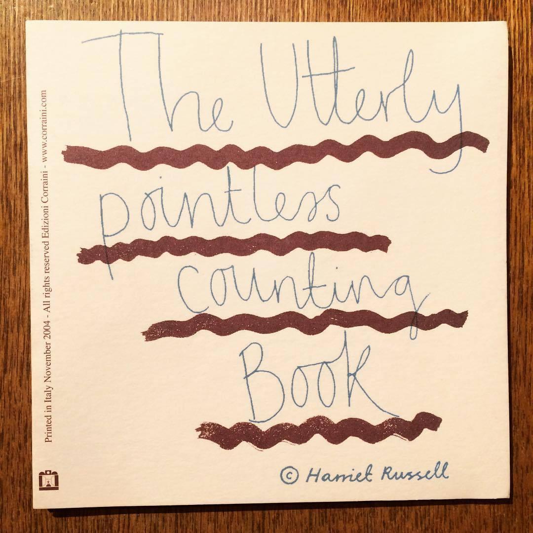 ハリエット・ラッセル絵本「Utterly/Harriet Russell」 - 画像1