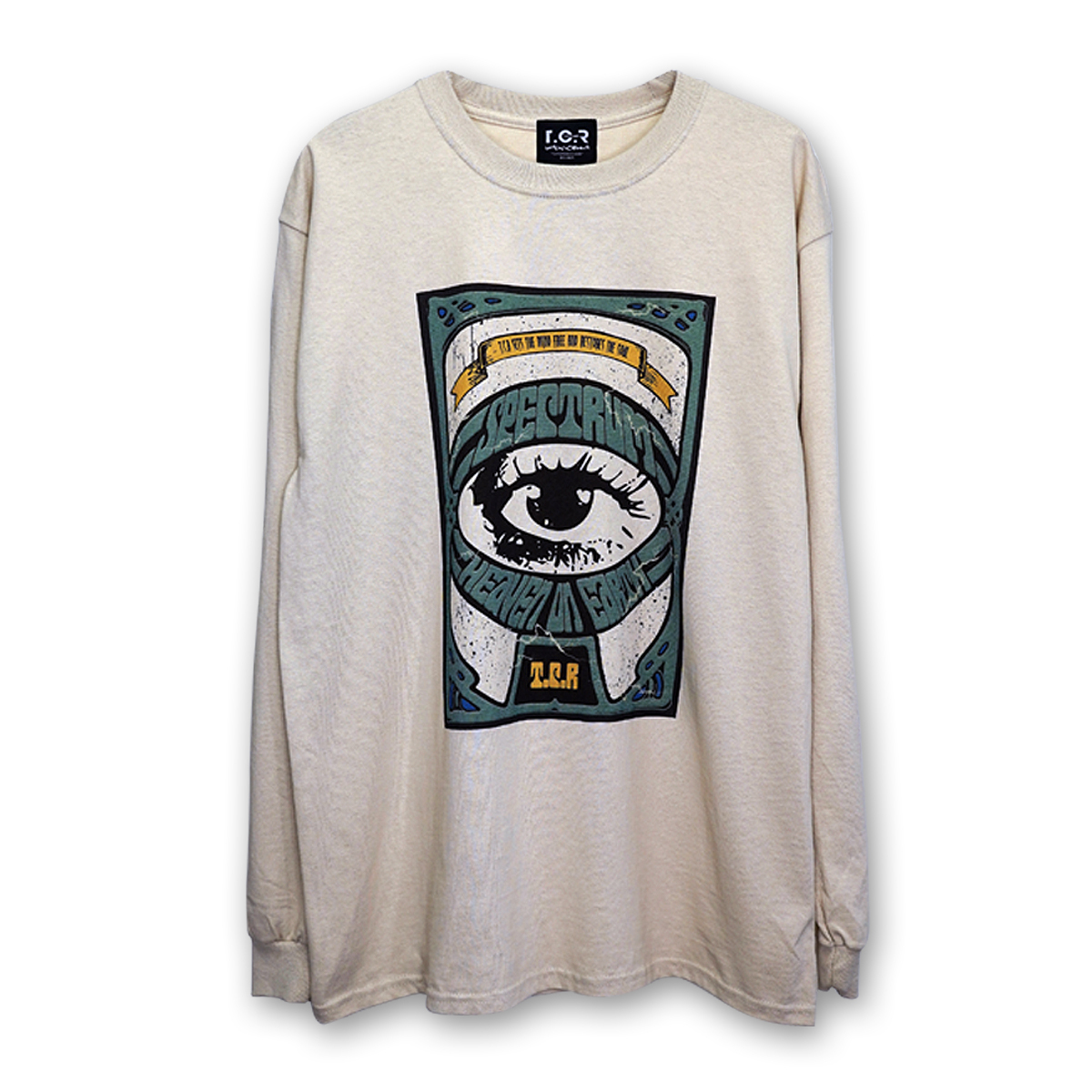 T.C.R RAVE L/S TEE - CHI☆MERO LIMITED EDITION - SAND