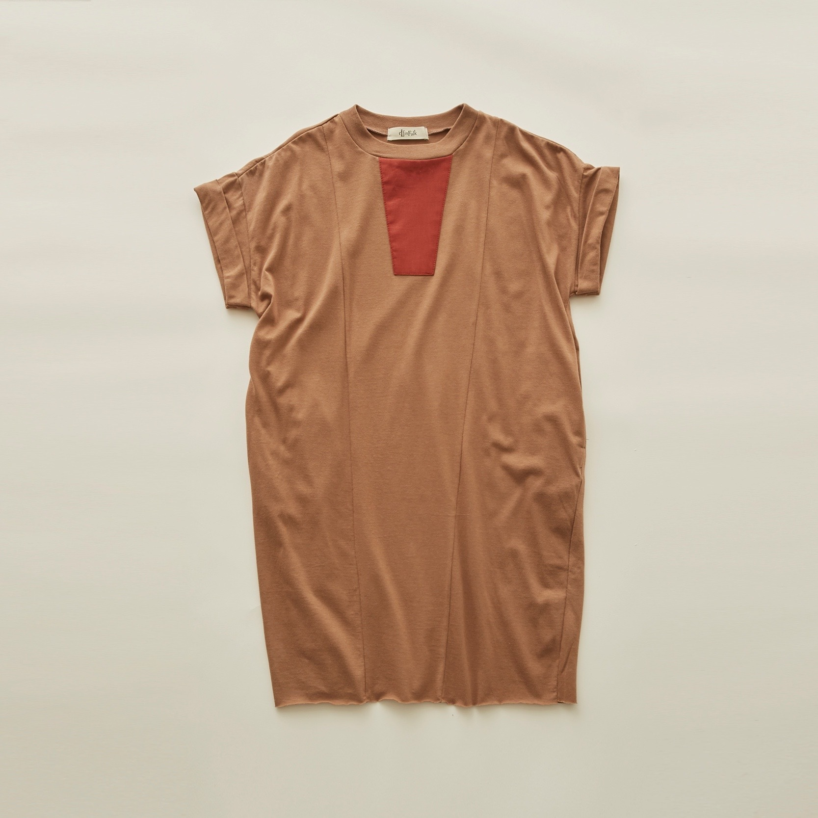 《eLfinFolk 2020SS》Maghreb maxi T / cocoa / 90・100cm