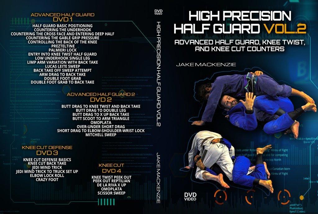 ハイプレシジョン・ハーフガード&リバース・ハーフガード ジェイク・マッケンジー VOL.2|ブラジリアン柔術教則DVD