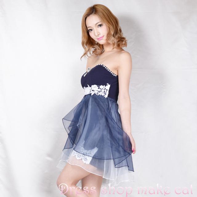 SALE再入荷★ふわふわinミニベアドレスFサイズ ¥6,570-→¥4,599-  make-7103 キャバドレス ドレス パーティー