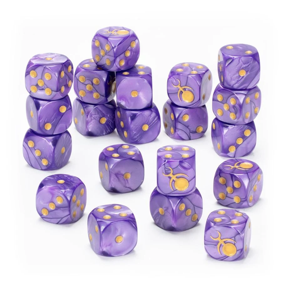 Hedonites of Slaanesh Dice Set