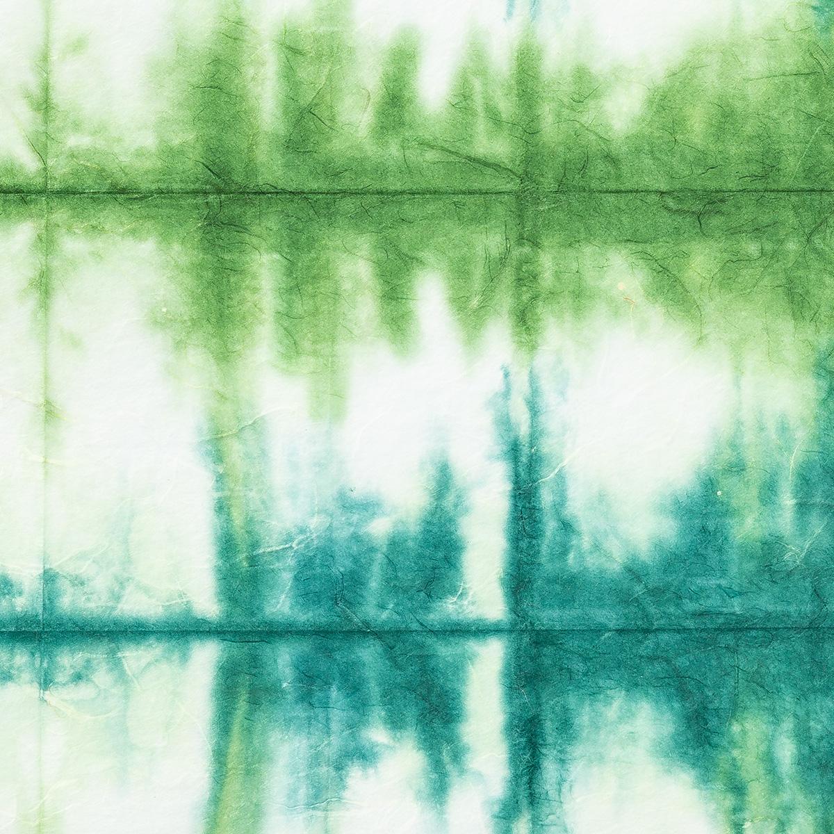 楮6匁 雲竜紙 板締め No.18