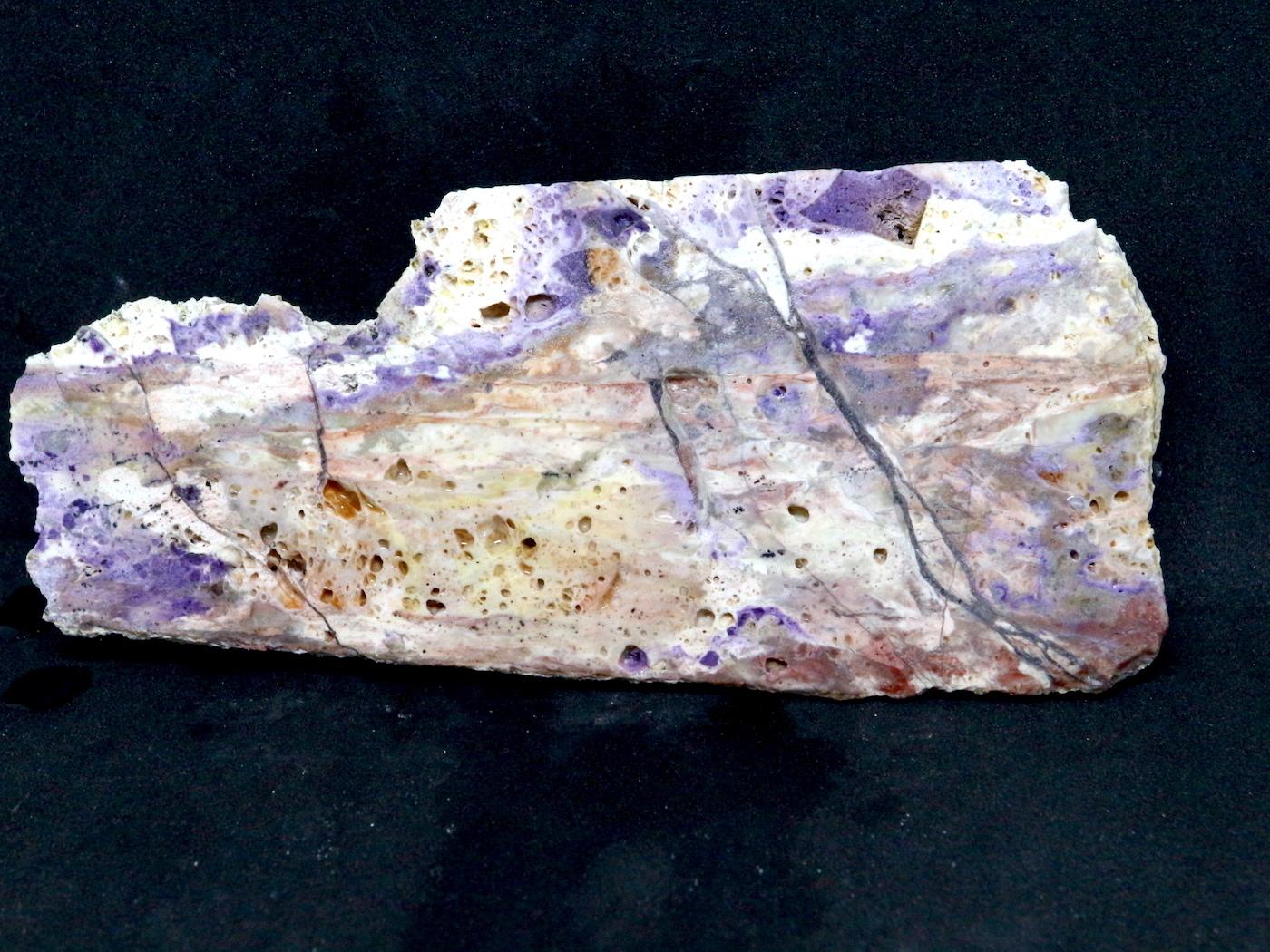 超希少!ティファニーストーン スライス  原石 ユタ州産 125,9g 鉱物 TF023