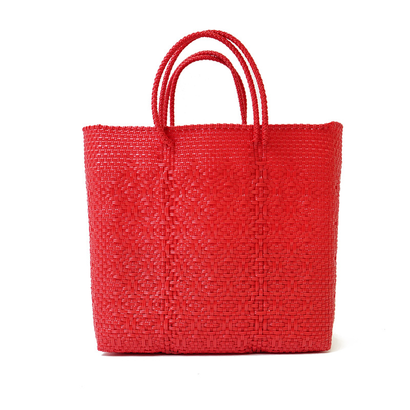 MERCADO BAG ROMBO - Red(M)