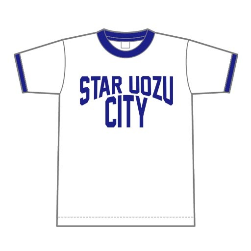 STAR UOZU CITY リンガーTシャツ【魚津市】