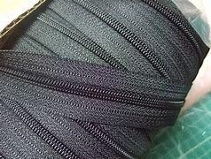 YKK コイルファスナー 45c 黒/カラー チェーン 10m単位