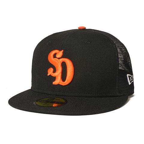 STANDARD CALIFORNIA #NEW ERA × SD 59 FIFTY Logo Mesh Cap