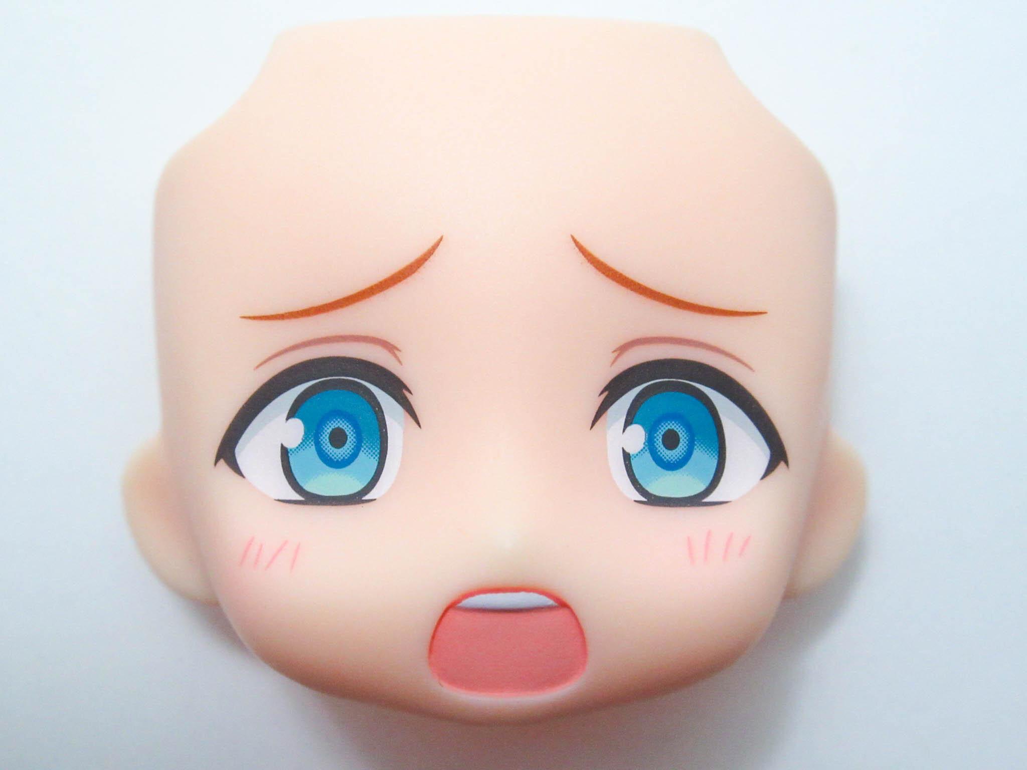 【1201】 明星スバル 顔パーツ 困り顔 ねんどろいど