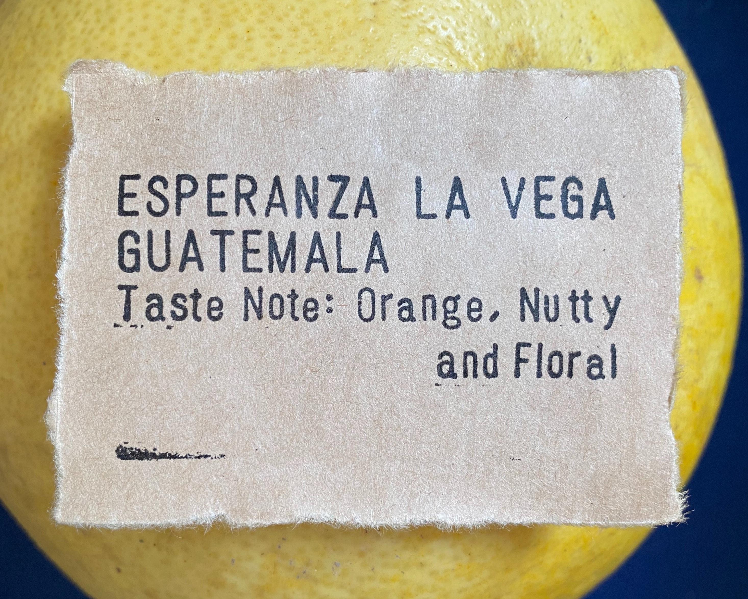 グアテマラ エスペランサ ラ ヴェガ