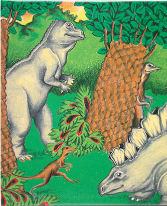 恐竜の国の冒険