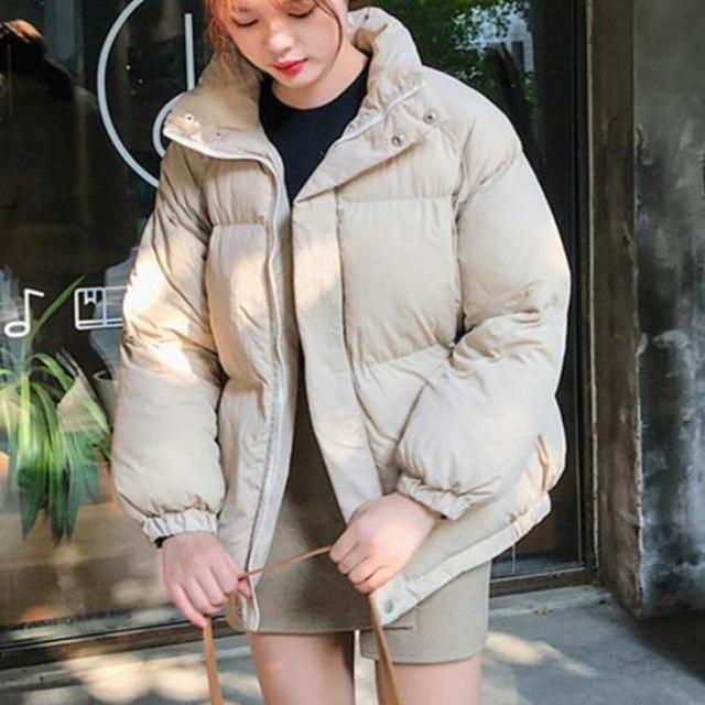 秋冬 人気 ジャケット コート ショート丈 カジュアル ダウン風 オフィス 防寒 キャンパス 通勤