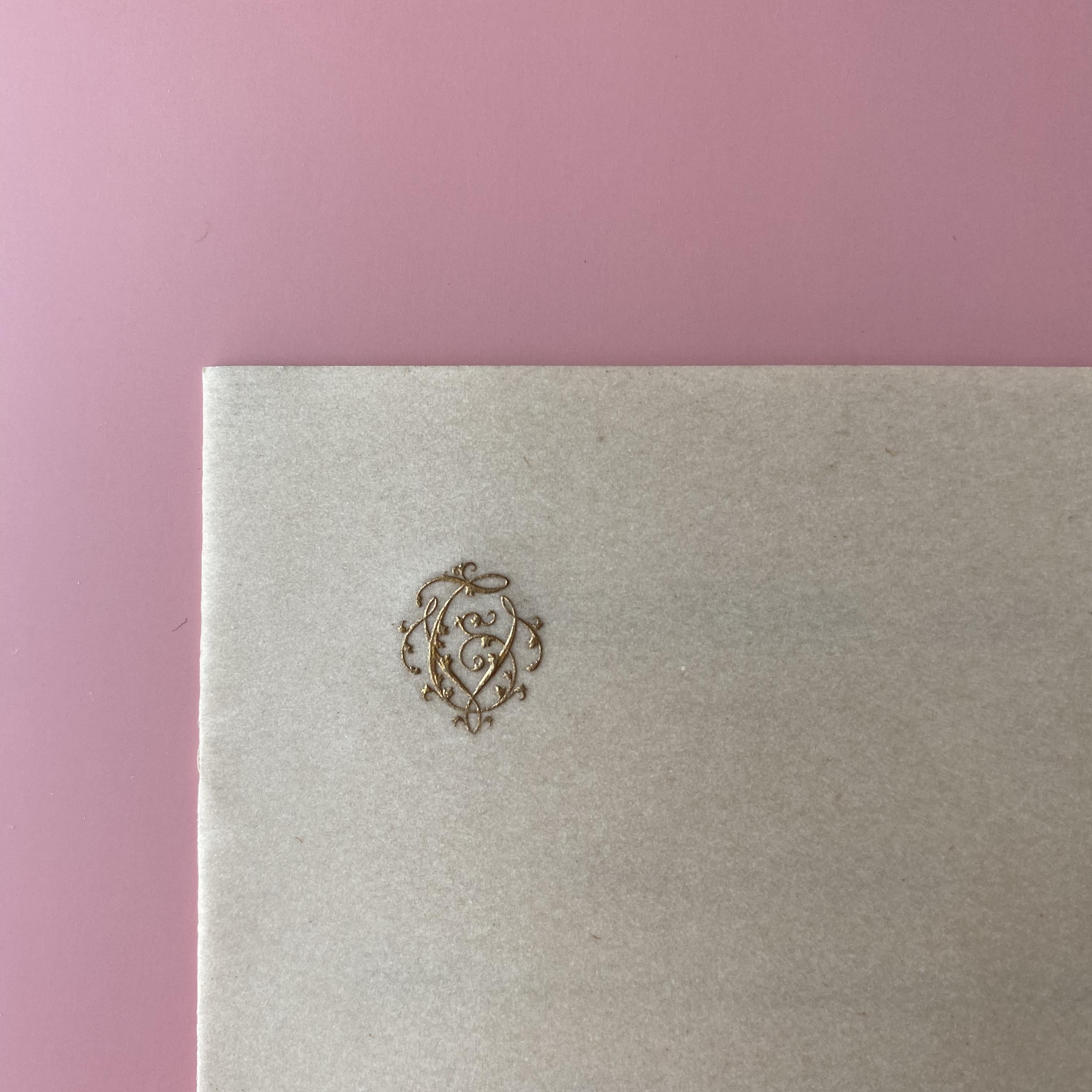 セルロイドメニューカード・1908/ vp0076