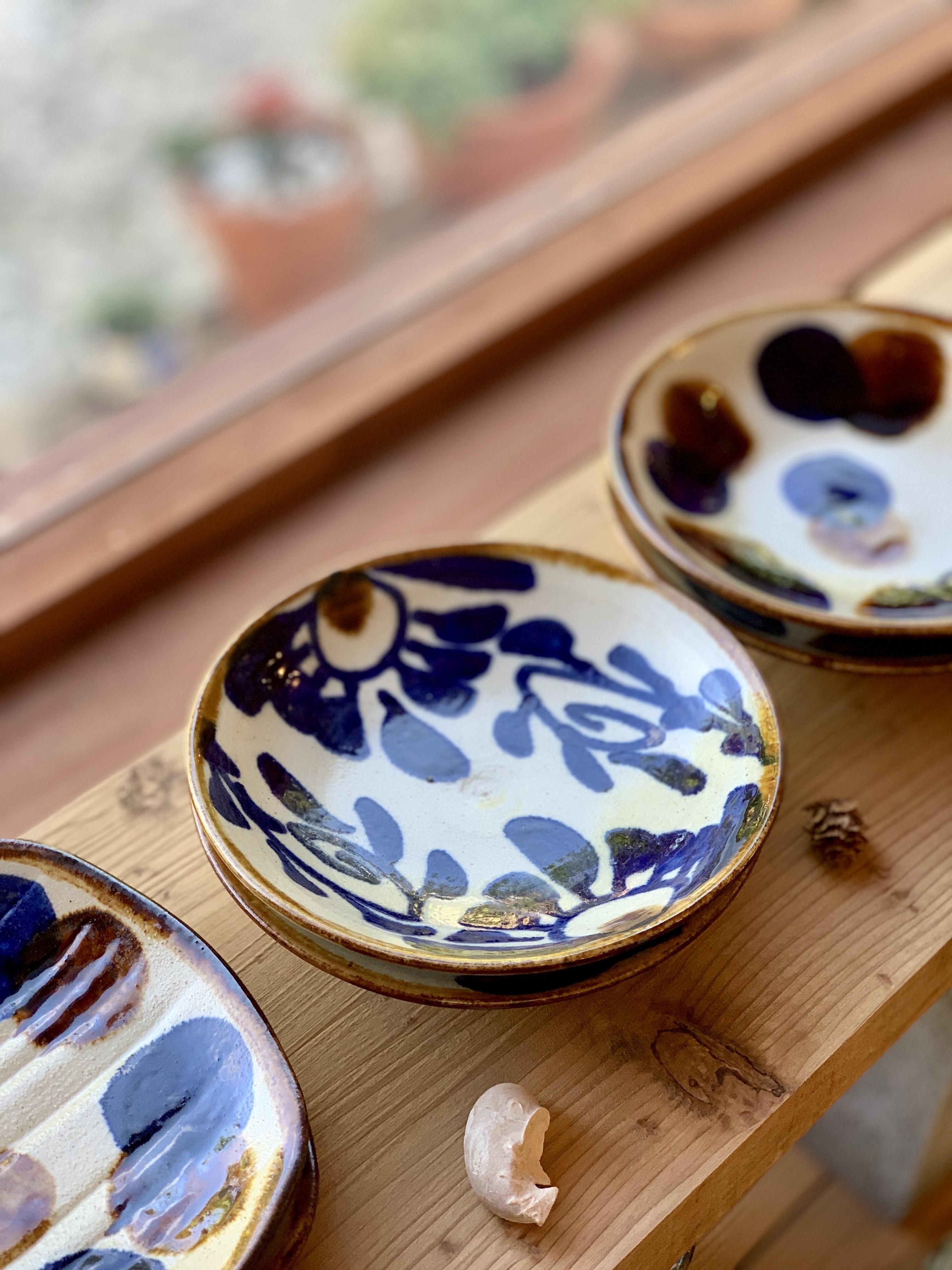 5寸皿 朝日陶器