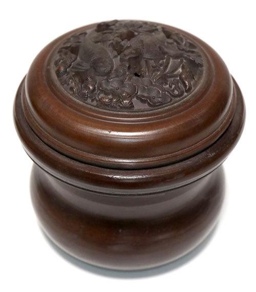 鳴き声用養盆(虫缶)
