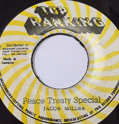 Jacob Miller(ジェイコブミラー) - Peace Treaty Special 【7'】