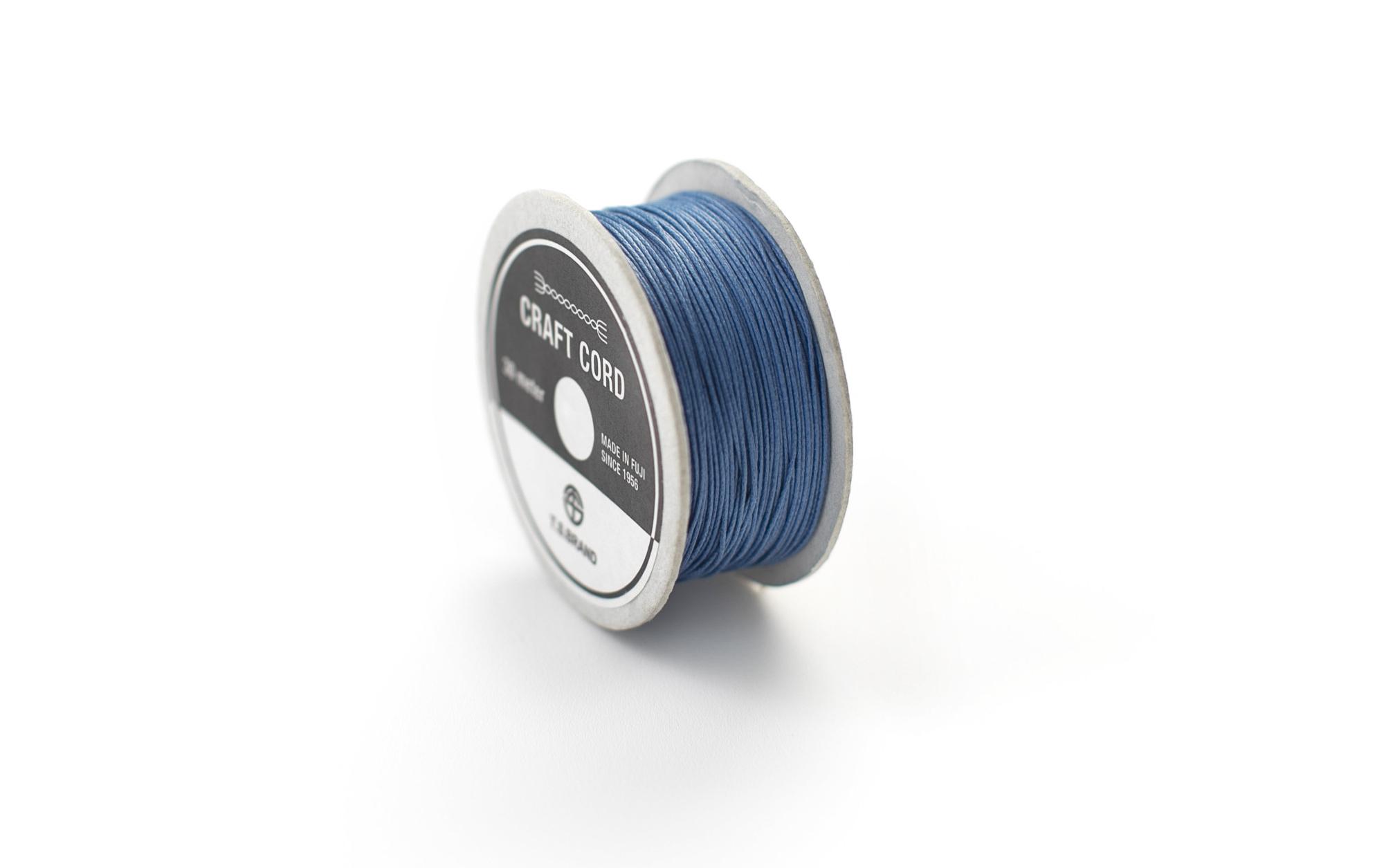 WAX CORD/ BLUE/ 0.5㎜/ 30meter