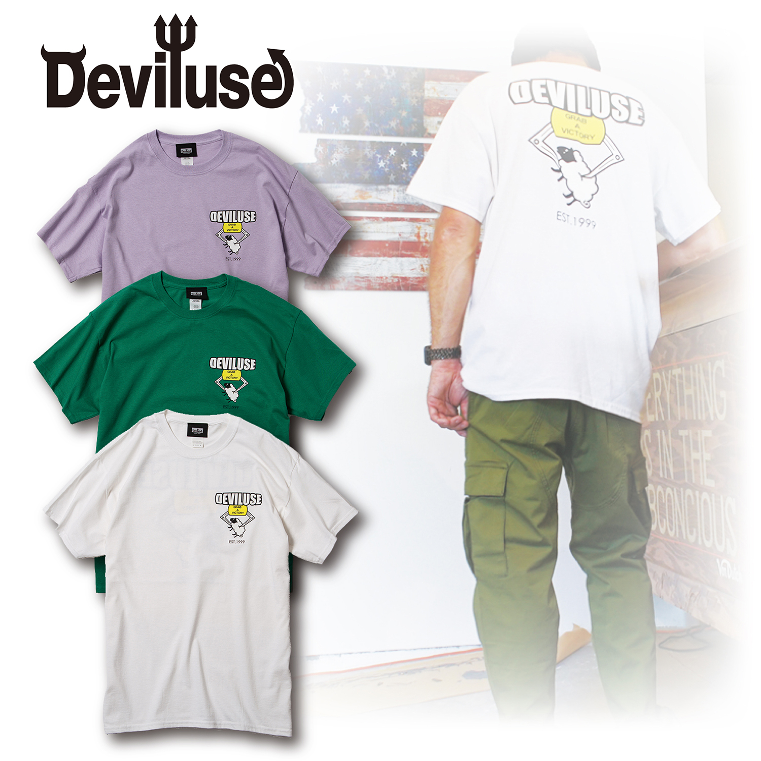 Deviluse(デビルユース) | Sheep Catcher T-shirts