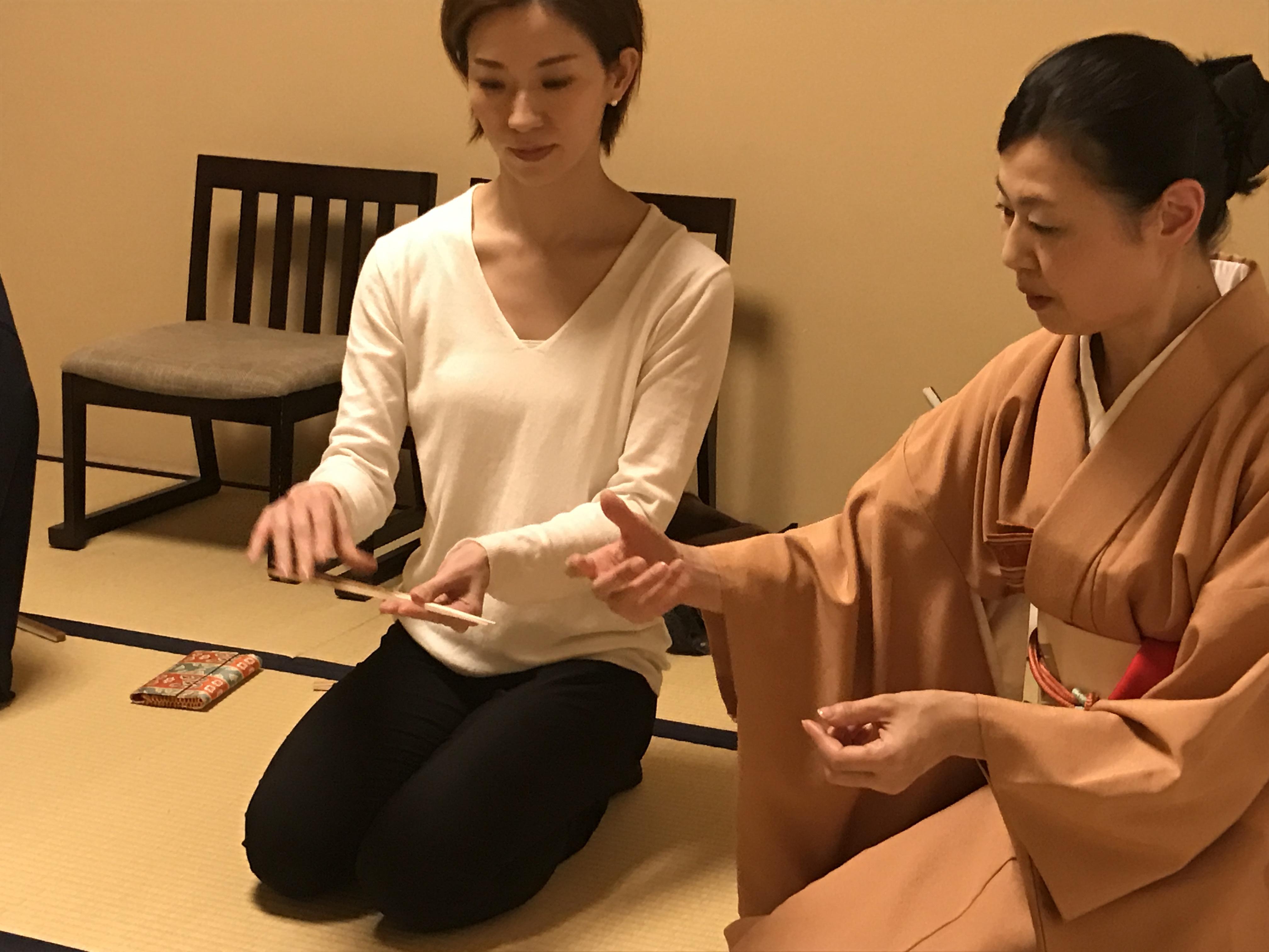 裏千家定期お稽古(7月〜11月の5回)